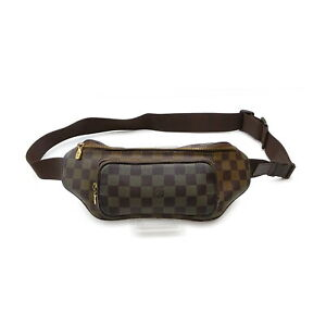 Louis Vuitton LV Waist Pouch Bag N51172 Bum Bag Melvale Browns Damier 1417540