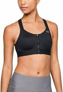 Under Armour Womens Sports Bras Black Size 34DD High-Impact Wicking $59 549