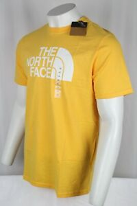The North Face Men's Short Sleeve Half Dome Tee Shirt Yellow