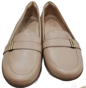SOUL Naturalizer Women's Kentley Slip-ons Taupe Loafer 8.5 M
