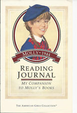 PLEASANT COMPANY MOLLY READING JOURNAL! ACTIVITES FOR 5 BOOKS! RETIRED~1992