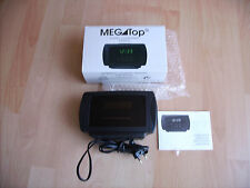 Mega Top estéreo Clock radio nuevo embalaje original rareza despertador indicador LED altavoz