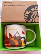 Starbucks Coffee 14oz Munich München Germany mug YAH YOU ARE HERE 2018 Cup NWT