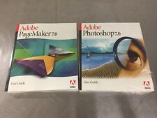 NEW Adobe Page Maker 7.0 and Photo Shop 7.0 User Guides