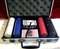World Series Of Poker Pro Poker 200 Chip Set - Aluminium Case - 11.5 Gram New