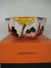 VINTAGE WEDGWOOD ART DECO CLARICE CLIFF CENTENARY BIZARRE COLLECTION LARGE BOWL