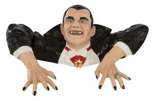 HALLOWEEN DRACULA VAMPIRE GRAVE BUSTER PROP DECORATION HAUNTED HOUSE CEMETARY