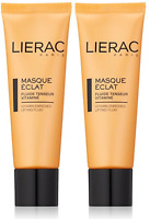 Lierac Radiance Mask Vitamin-Enriched Lifting Fluid, 1.7 Oz (2 Pack)