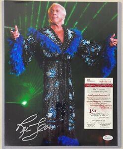 RIC FLAIR Signed 11x14 Photo Wrestling Autographed AUTO w/ JSA COA