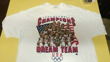 1996 Olympic Basketball Dream Team USA Shirt 2X Pippen Reggie Shaq Hakeem Penny