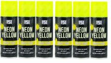 12 x 200ml Neon Spray Paint Fluorescent Aerosol Auto Car DIY Art Craft Graffiti