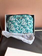 Michael Kors Tile Blue Cosmetic Bag