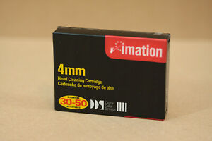 imation 4mm DDS DAT Head Cleaning Cartridge Reinigungsband Kassette