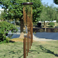 Large 18 Tubes Windchime Chapel Bells Wind Chimes Door Hanging Home Decor