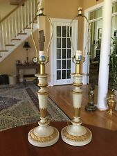 Vintage Pair Frederick Cooper Hollywood Regency Table Lamps