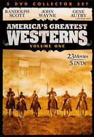 America's Greatest Westerns, Vol. 1 (DVD, 2010, 5-Disc Set)