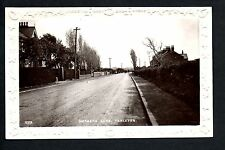 Tarleton, between Southport & Preston - Hesketh Lane - real photographic p/card