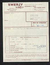 """LYON (69) ACCELERATEURS & POMPES pour CHAUFFAGE """"EMERGY"""" en 1955"""