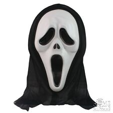 HALLOWEEN SCREAM MOVIE PARTY SCARY WHITE GHOST MASK  FANCY DRESS COSTUME