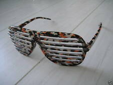 Jungle Multi Colour pattern sunglasses Shutter Shade