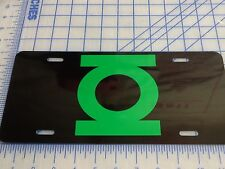 Green Lantern licence plate