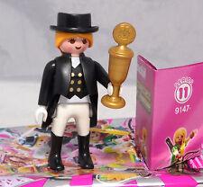 PLAYMOBIL 9147 figures Girls serie 11, grande cavallerizza del gruppo con coppa #8 NUOVO