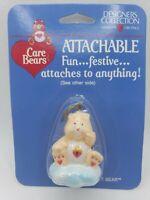 1985 Vintage American Greetings Care Bears SECRET Bear Attachable MIP