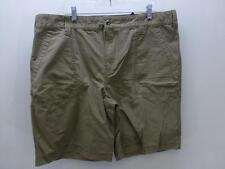TOMMY HILFIGER TH lite brown flat front Shorts golf board bermuda mens sz 42