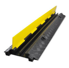 PylePro Protective Cable Wire Floor Ramp Track Cover with Anti-slip Surface