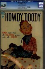HOWDY DOODY #1-CGC 6.0- 1ST TV COMIC- 1950 PHOTOCVR CLASSIC
