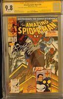 Amazing spiderman 356 9.8 ss 3 signatures!