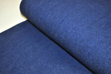 JEANS Stoff Stretch 50cm x 1,45m Pumphose UNI BLAU DENIM DUNKEL Robust