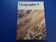 DDR Schulbuch -Lehrbuch -Geographie Erdkunde Klasse 9-Atmosphäre-Hydrosphäre