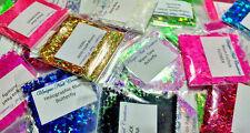 *SUPER SALE GRAB BAG~*15 Random Glitter Shapes~ Nail Art~Solvent Resistant~ USA