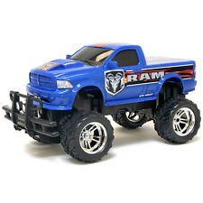 Ram in Blue By New Bright 1:16 R/C FF - RETAIL BOXED
