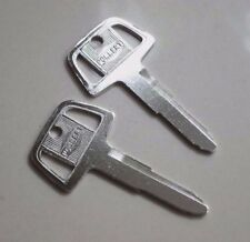 PAIR BLANK UNCUT STAINLESS STEEL IGNITION KEYS FOR MITSUBISHI FOR LANCER SPARES2