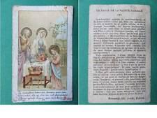 030 - Image - Repas de la Sainte Famille - Edit. Bonamy Pontificat - Poitier