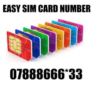 GOLD EASY VIP MEMORABLE MOBILE PHONE NUMBER DIAMOND PLATINUM SIMCARD 888