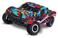 Traxxas Slash VXL 2WD 1/10 RTR TQi TSM w/o Battery & Charger Hawaian