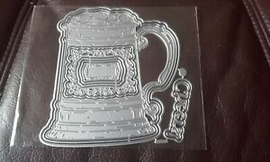 Metal Cutting Dies - Tankard - fits with carnation crafts