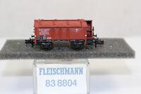 n2591, RAR Fleischmann 83 8804 Klappdeckelwagen  BOX Spur N mint