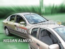 Windabweiser für Nissan Almera N16 Vor-Facelift 2000-2002 Schrägheck Hatchback 5