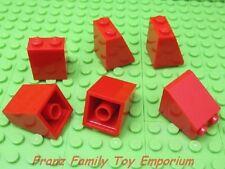 New LEGO Minifigure SKIRT/SLOPE Red Lot of 6 Female/Girl Robe Body Parts