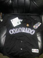 Matt Holliday Colorado Rockies World Series shirt MLB baseball Jersey Youth XL