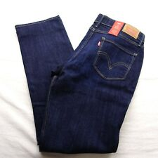 Levi's Womens 315 Shaping Boot Cut Mid Rise Stretch Denim Jeans All Sizes Classic Dark Wash 0001 27