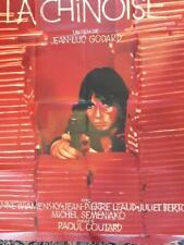 """AFFICHE ORIGINALE du film """"LA CHINOISE"""" de Jean-Luc GODARD"""