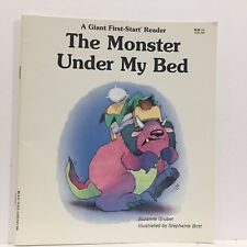 Monster under My Bed by Suzanne Gruber Giant First-Start Reader Illust Free Ship