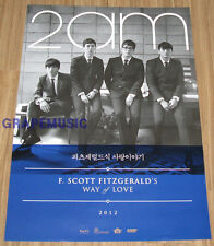 2AM 2 AM F.Scott Fitzgerald's way of love MINI ALBUM K-POP CD + POSTER SEALED