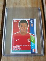 2017/18 Topps Champions League Kylian Mbappe rookie sticker Rare