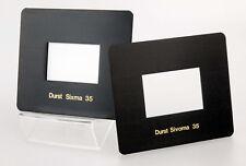 Durst Sivopar 35. Sixma 35 + Sivoma 35 Negativmasken für M605 M670 etc. 09982